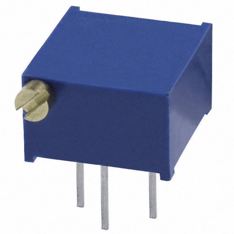 Trimer Bourns 3299P-1-501LF, utesnený, lineárny, 500 Ohm, 0.5 W, 1 ks