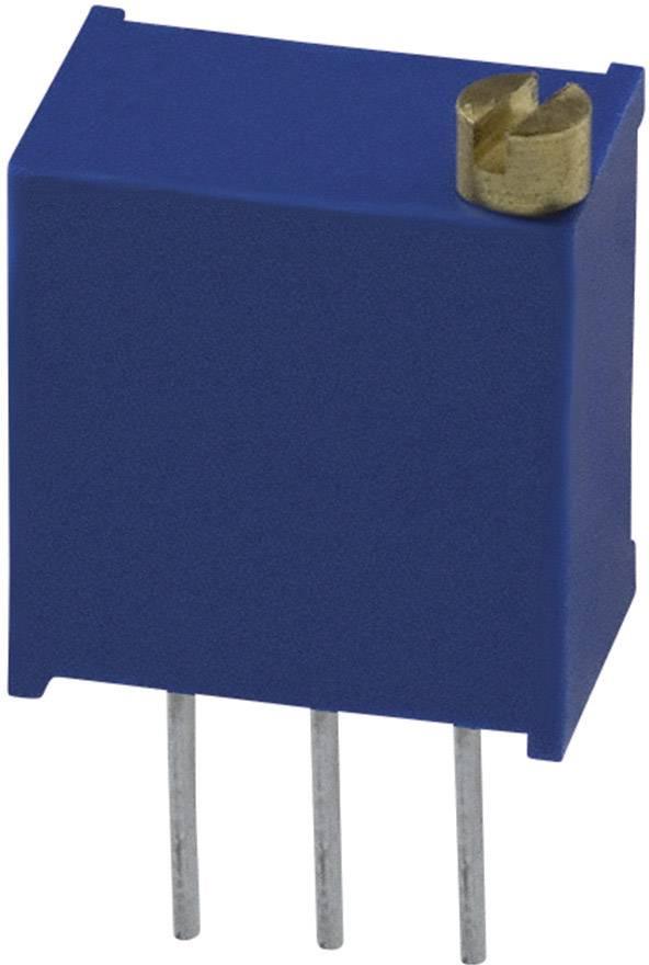 Trimer Bourns 3299W-1-500LF, utesnený, lineárny, 50 Ohm, 0.5 W, 1 ks