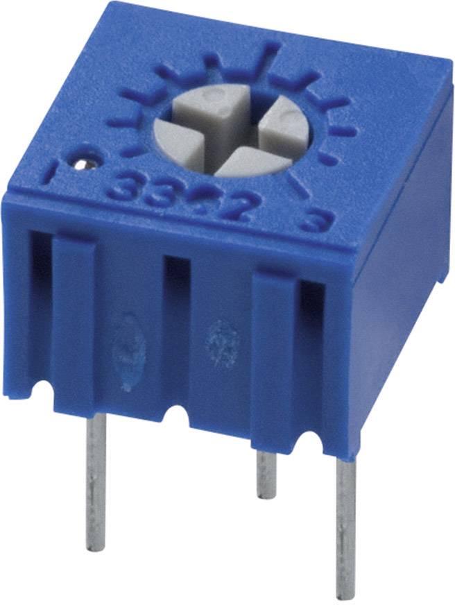 Trimer Bourns 3362P-1-500LF, utesnený, lineárny, 50 Ohm, 0.5 W, 1 ks
