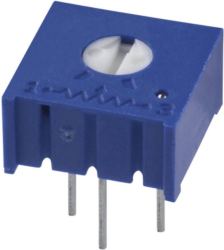 Trimer Bourns 3386F-1-101LF, utesnený, lineárny, 100 Ohm, 0.5 W, 1 ks