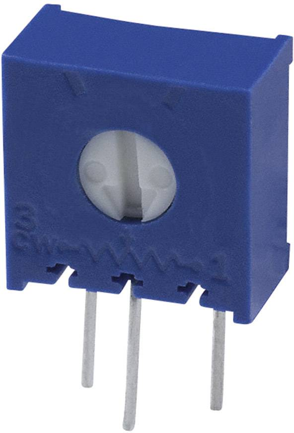 Trimer Bourns 3386X-1-504LF, utesnený, lineárny, 500 kOhm, 0.5 W, 1 ks