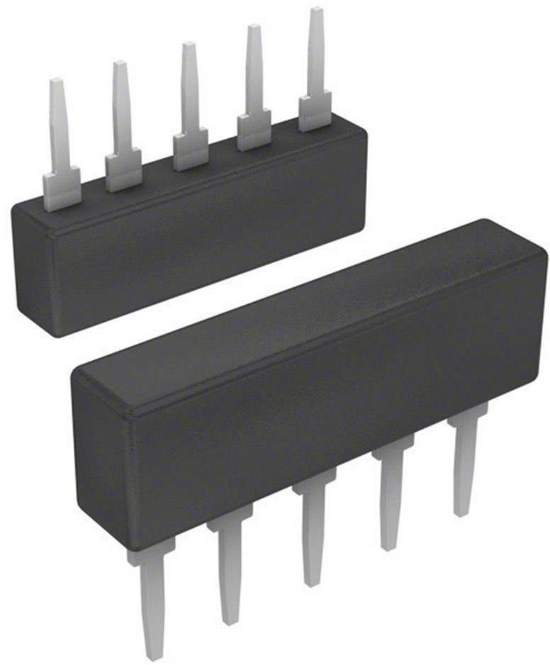 Odporová síť Bourns 4605X-101-222LF, 2,2 kΩ, SIP-5, radiální vývody, 0,2 W, 2 %