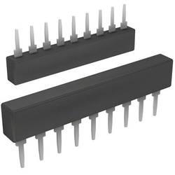 Odporová síť Bourns 4609X-101-682LF, 6,8 kΩ, SIP-9, radiální vývody, 0,2 W, 2 %