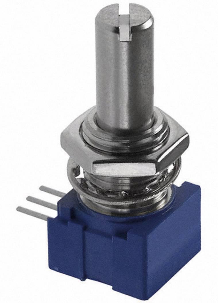 Otočný potenciometer utesnený mono Bourns 51AAD-B28-A15L 51AAD-B28-A15L, 1 W, 10 kOhm, 1 ks