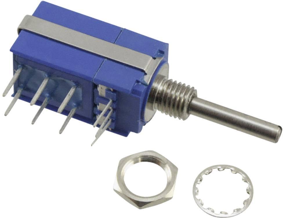 Otočný potenciometer s tlakovým spínačom mono Bourns 54CAD-E28-B13/P50L 54CAD-E28-B13/P50L, 0.5 W, 5 kOhm, 1 ks