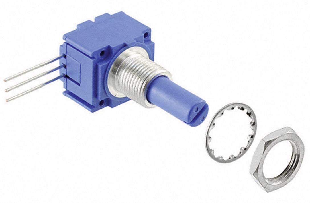 Otočný potenciometer mono Bourns 91A1A-B28-B15L 91A1A-B28-B15L, 1 W, 10 kOhm, 1 ks