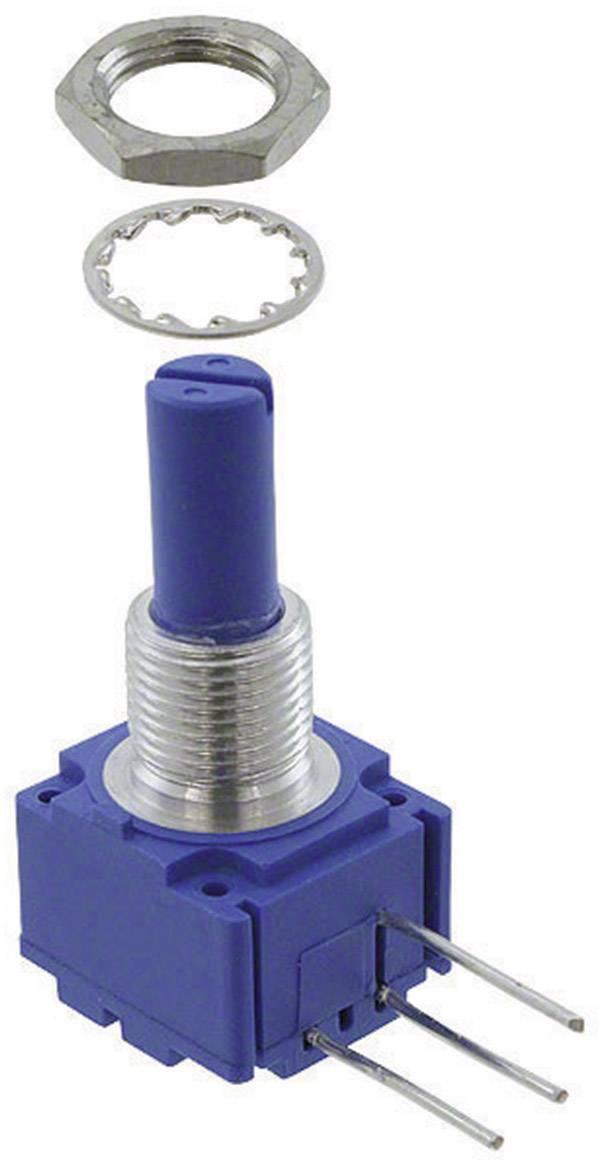 Otočný potenciometer mono Bourns 93A1A-B28-A15L 93A1A-B28-A15L, 2 W, 10 kOhm, 1 ks