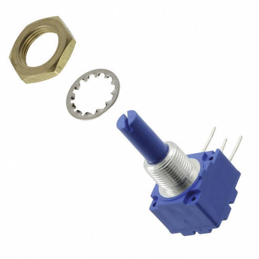 Otočný potenciometer mono Bourns 93R1A-R22-A15L 93R1A-R22-A15L, 2 W, 10 kOhm, 1 ks