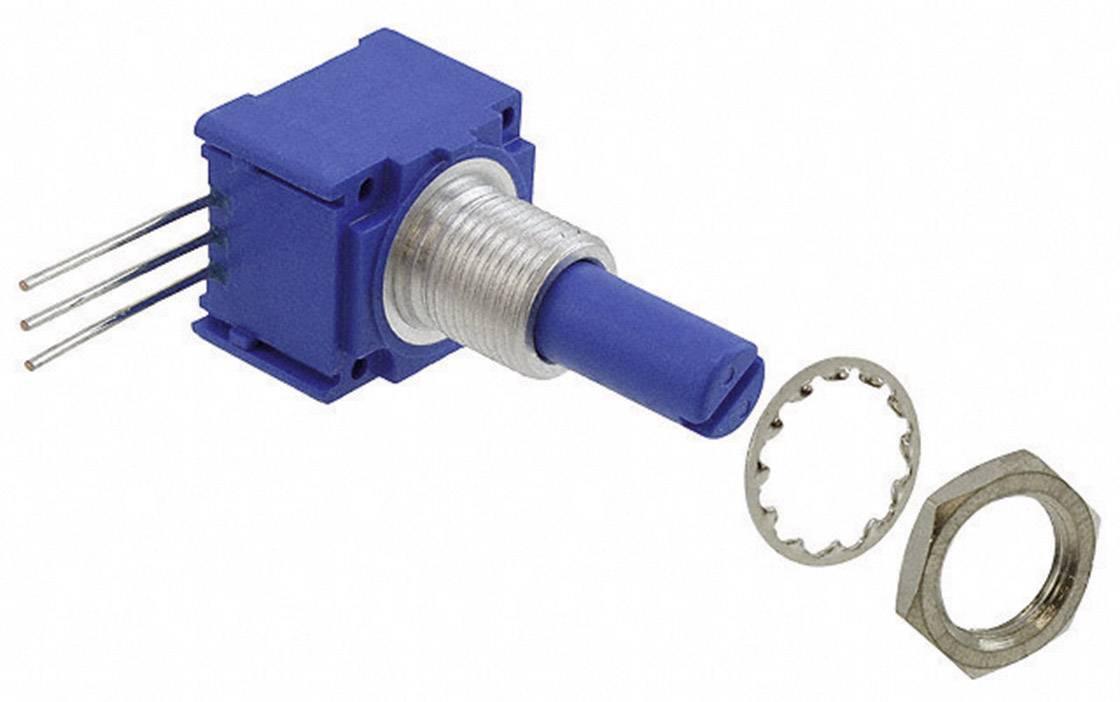 Otočný potenciometer utesnený mono Bourns 96A1A-B28-A15L 96A1A-B28-A15L, 2 W, 10 kOhm, 1 ks