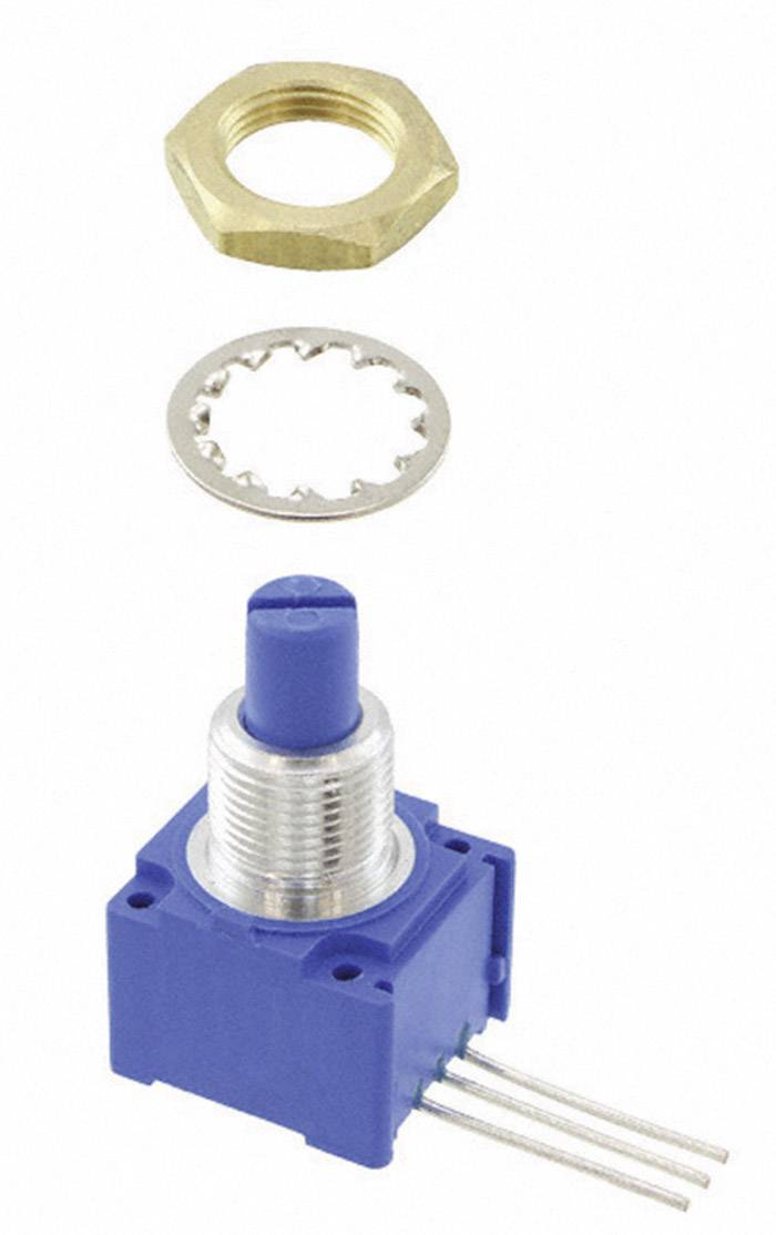 Otočný potenciometer utesnený mono Bourns 96R1A-R16-A15L 96R1A-R16-A15L, 2 W, 10 kOhm, 1 ks