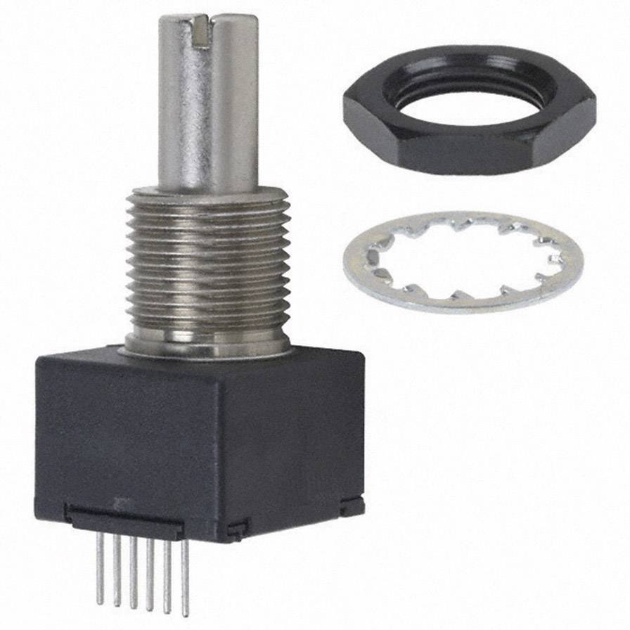 Impulzný otáčkomer Bourns EM14R1D-R20-L032N, 12 V/DC, pozice 32, 360 °, 1 ks