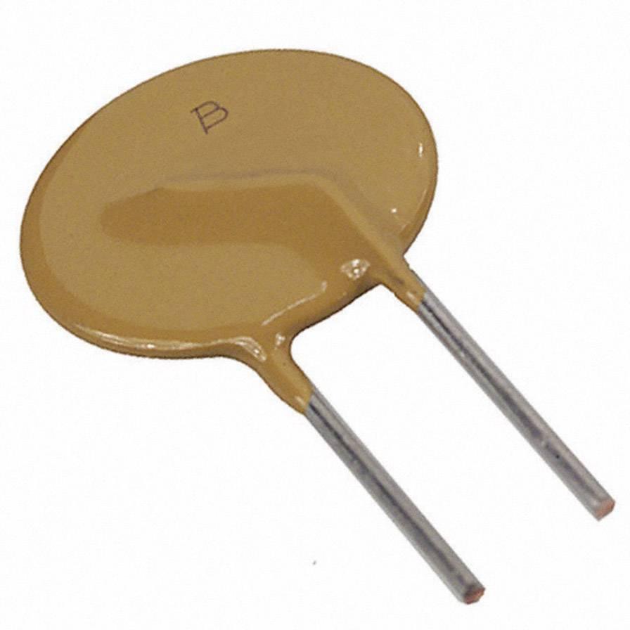 PTC pojistka Bourns MF-RX012/250-0, 0,12 A, 15,7 x 6,5 x 4,6 mm