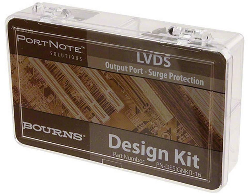 Sada k přepěťové ochraně LDVS obvodů Bourns PN-Designkit-16