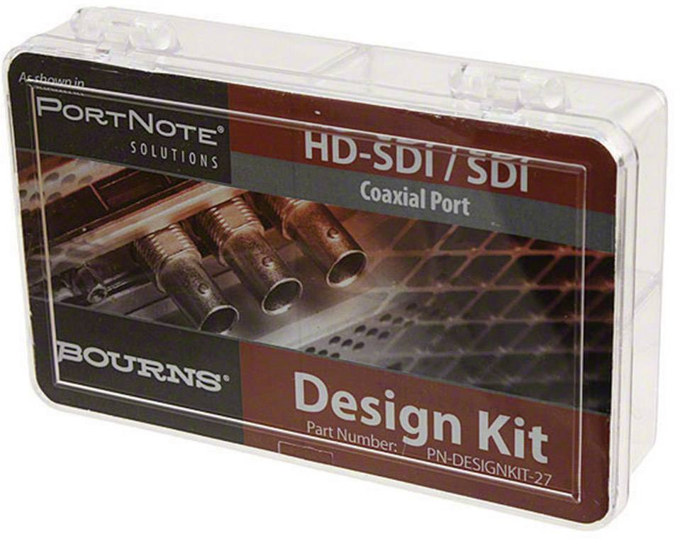 Sada k ochraně HD-SDI/SDI obvodů Bourns PN-Designkit-27