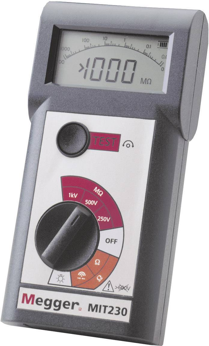 Tester izolací Megger MIT230