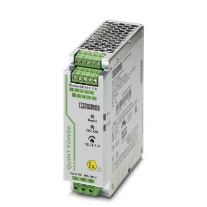 Síťový zdroj na DIN lištu Phoenix Contact QUINT-PS/ 1AC/24DC/ 5/CO, 1 x, 24 V/DC, 5 A, 120 W