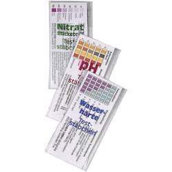 Prúžky na testovanie pH, tvrdosti vody a obsahu