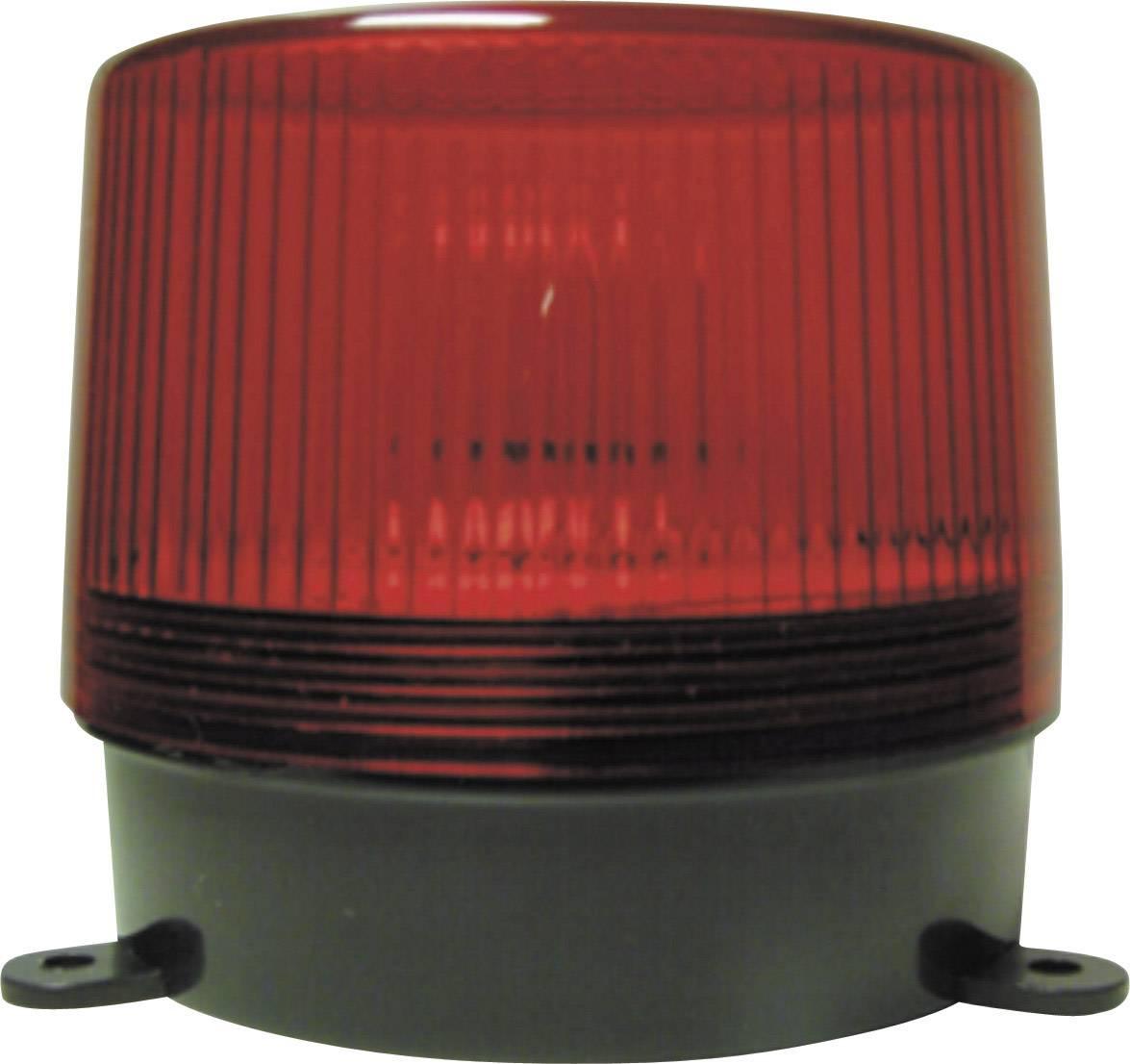 Alarmový stroboskop Elron SA110A, 90 bliknutí/min, červená