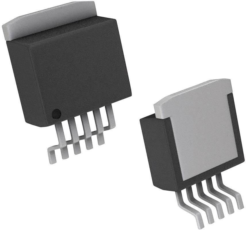 PMIC regulátor napětí - lineární Linear Technology LT1963AEQ-3.3#TRPBF pozitivní, pevný DDPAK-5