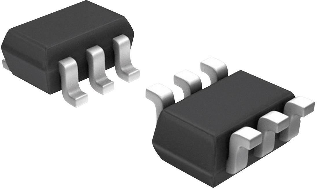 Digitální potenciometr lineární Microchip Technology MCP4017T-104E/LT, volatilní, SC-70-6