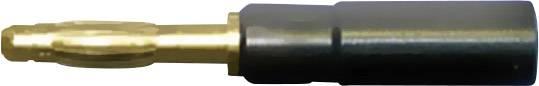 Adaptér banánek 4 mm ⇔ zásuvka pro měřící hrot Testec 21010, pevný
