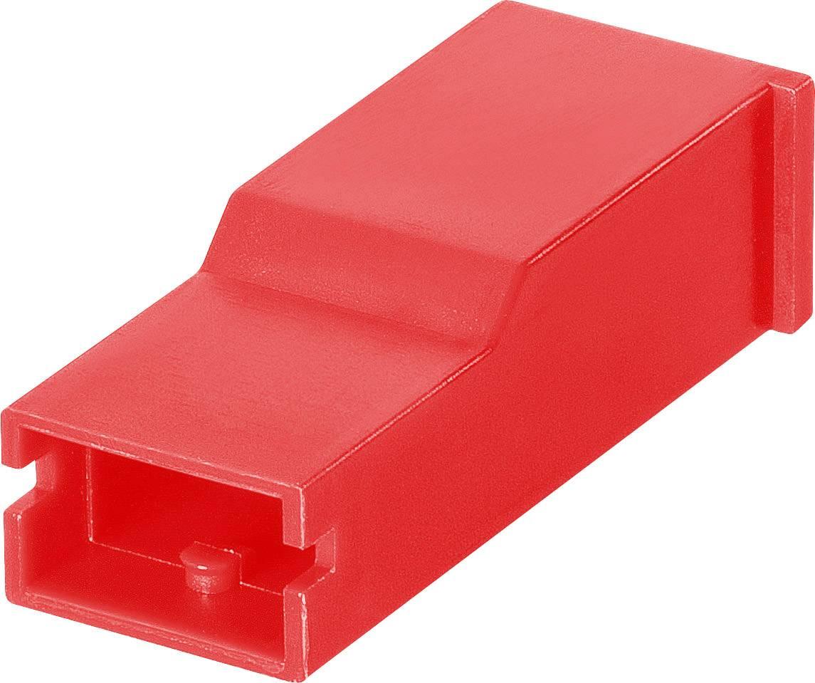 Izolačná objímka TE Connectivity 154719-2, červená – 1 ks