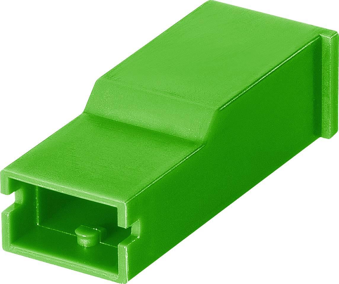Izolační objímka TE Connectivity AMPMODU (154719-5), zelená