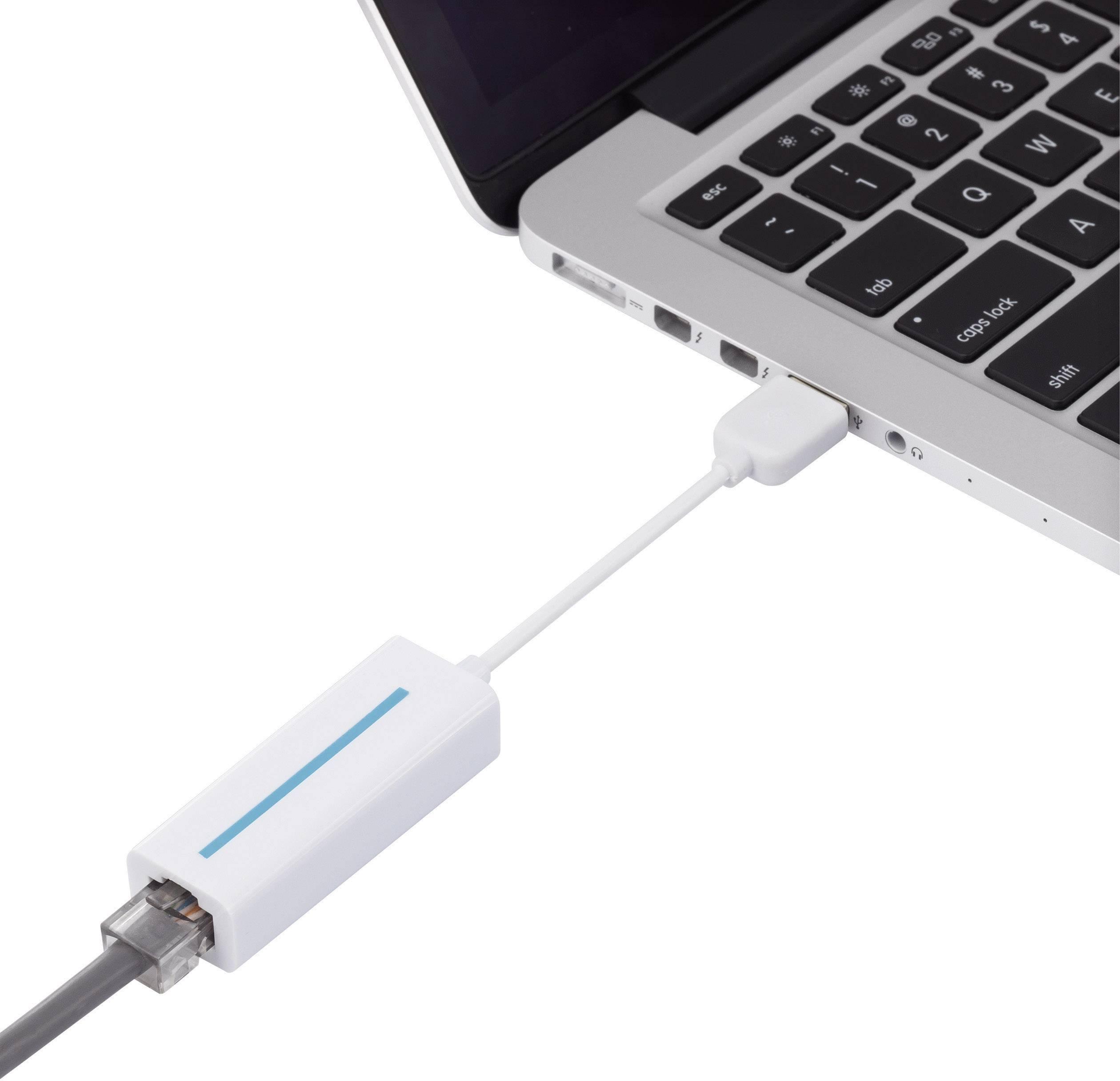Síťový USB adaptér Renkforce, USB 2.0, LAN (10/100 MBit/s)
