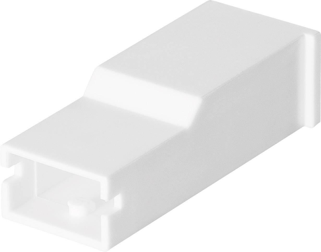 Izolační objímka TE Connectivity AMPMODU (1-154719-0), přírodní