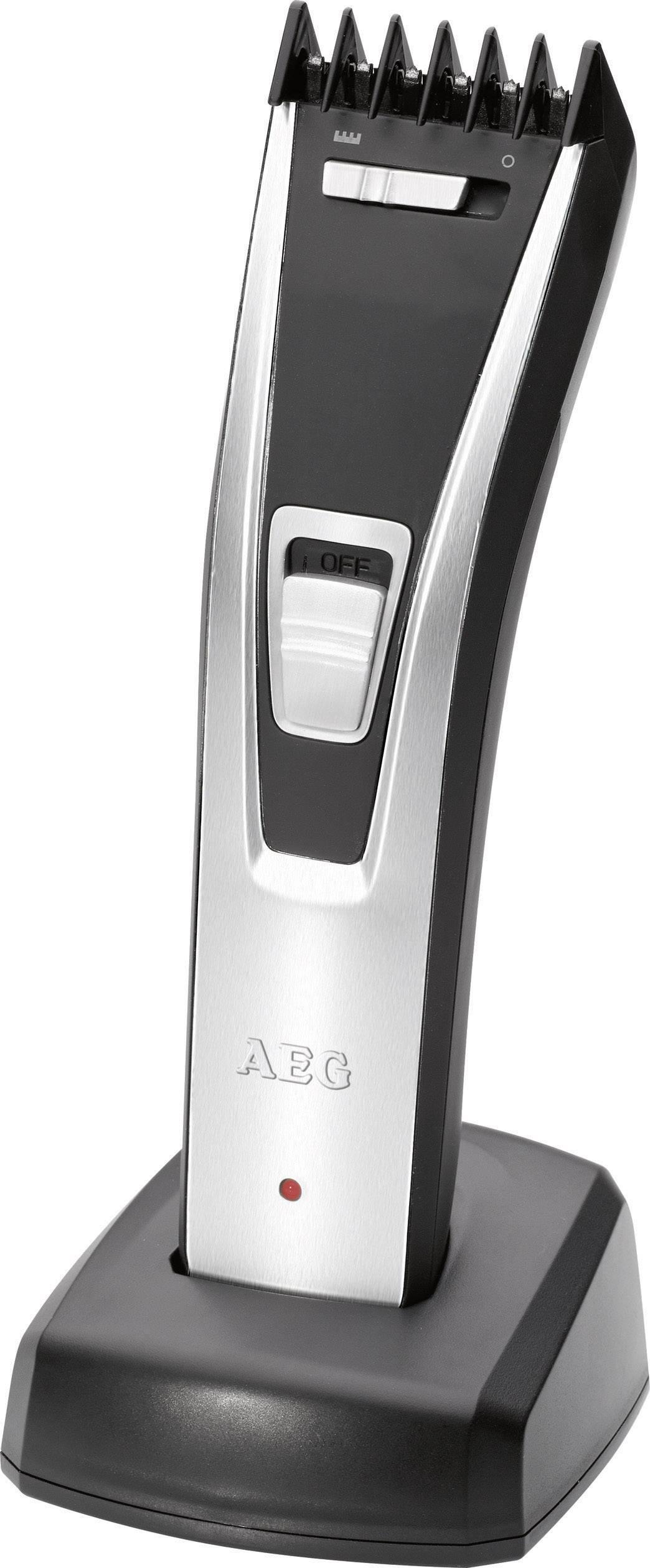 Zastrihávač fúzov, zastrihávač vlasov AEG HSM/R 5614, čierna/strieborná