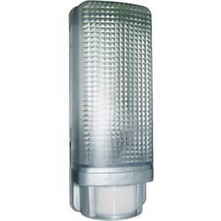 Vonkajšie nástenné osvetlenie s PIR senzorom Smartwares ES88A 10.020.75, E27, 13 W, plast, striebornosivá