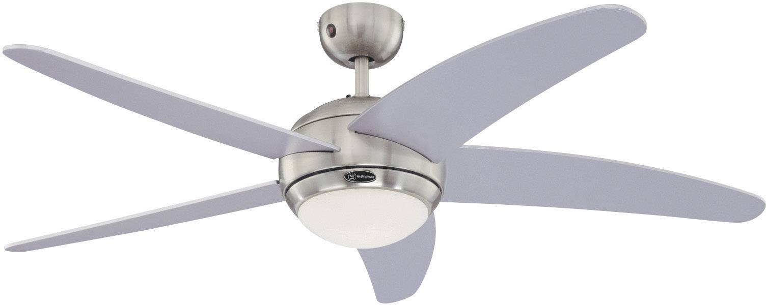 Stropní ventilátor Westinghouse Bendan Silber, Ø 132 cm, stříbrná/chrom