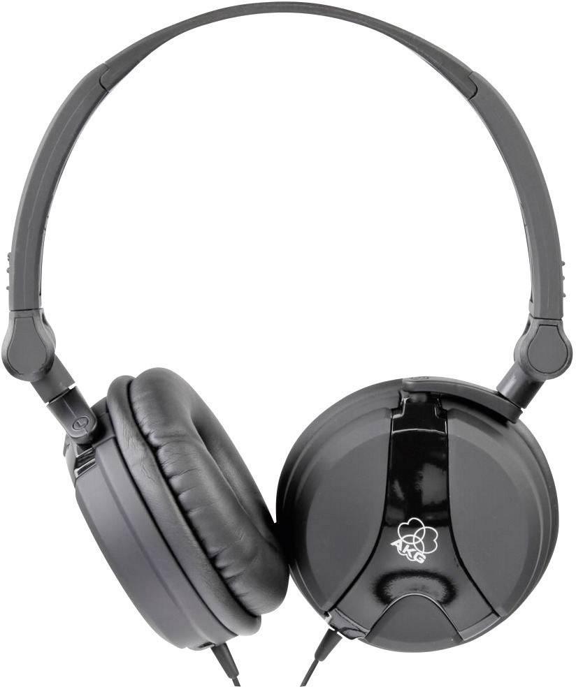 DJ slúchadlá AKG Harman K 518 K518BLK, čierna