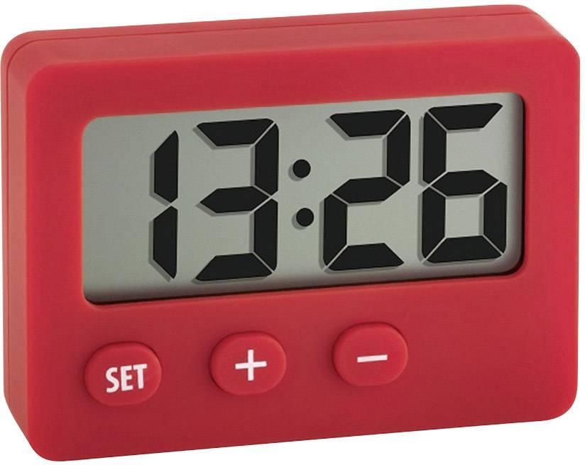 Quartz stolové hodiny TFA 60.2013.05 60.2013.05, červená