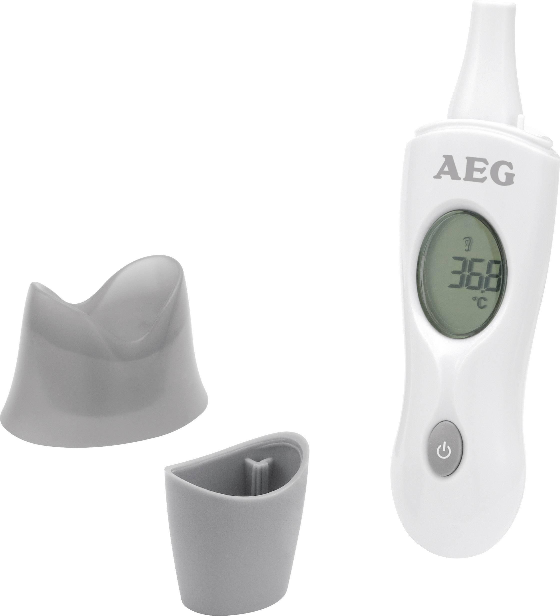Ušní a čelový digitální teploměr 4v1 AEG FT 4925
