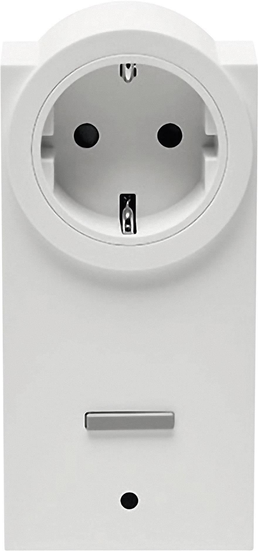 Bezdrôtová spínacia a meracia zásuvka HomeMatic HM-ES-PMSw1-Pl 130248 1-kanálový , max. dosah 150 m