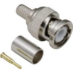BNC konektor BKL Electronic 0401255/D - zástrčka, rovná, 50 Ω, 1 ks