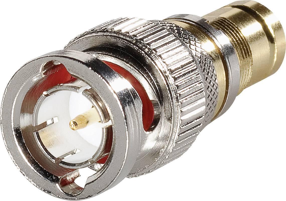 BNC adaptér BNC zástrčka - zásuvka 1.6/5.6 BKL Electronic 0401285, 1 ks