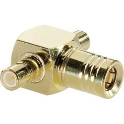SMB zástrčka / SMB zásuvka BKL Electronic 0411039, adaptér rovný