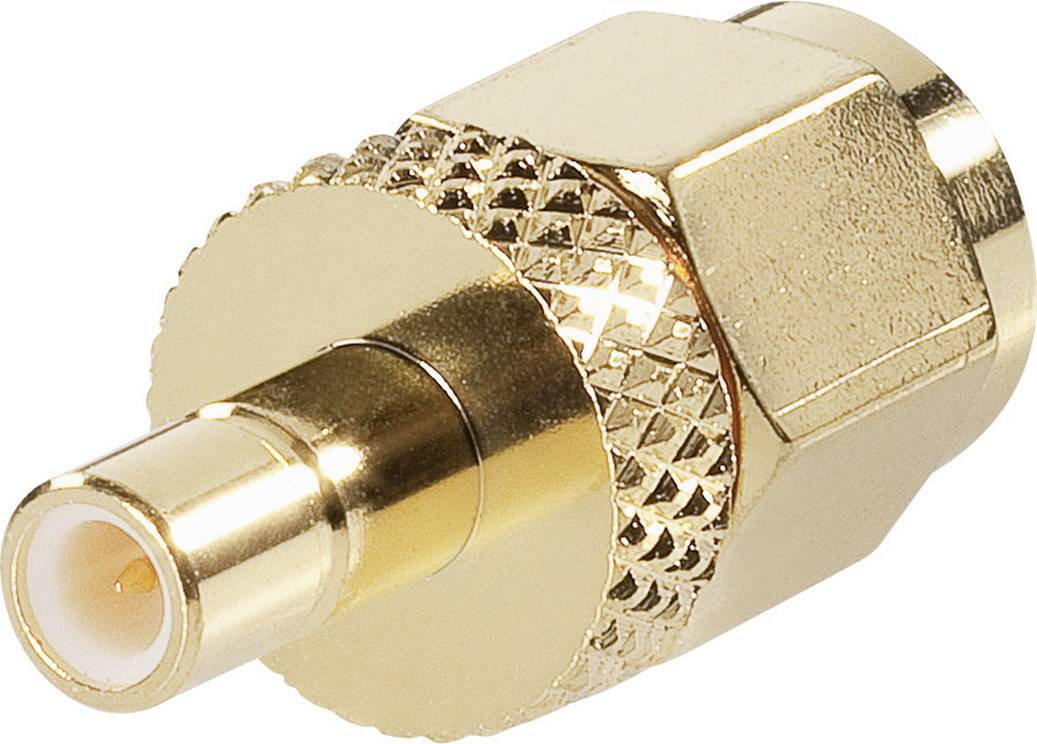 SMB zásuvka / SMA zástrčka BKL Electronic 0409099, adaptér rovný