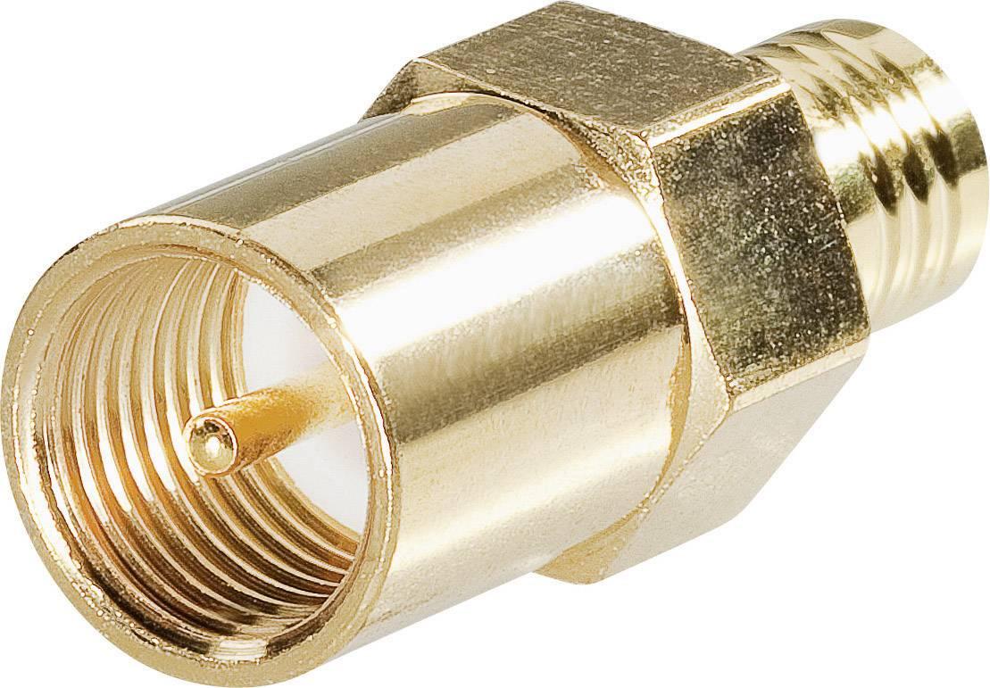 SMB zástrčka / FME zástrčka BKL Electronic 0411045, adaptér rovný