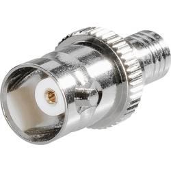 SMB zástrčka / BNC spojka BKL Electronic 0411047, adaptér rovný