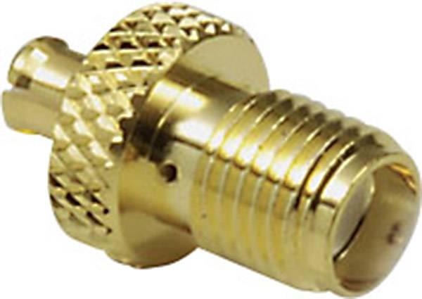 MCX zástrčka/zásuvka BKL 0416314, 50 Ω, adaptér rovný