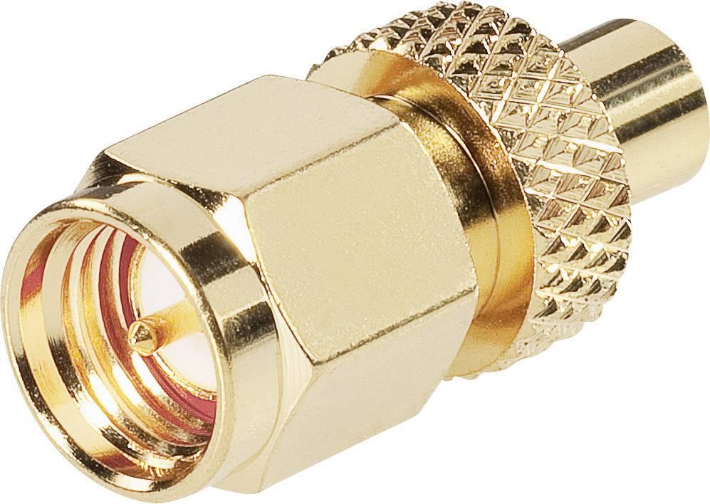 MCX zásuvka/zástrčka BKL 0409064, 50 Ω, adaptér rovný