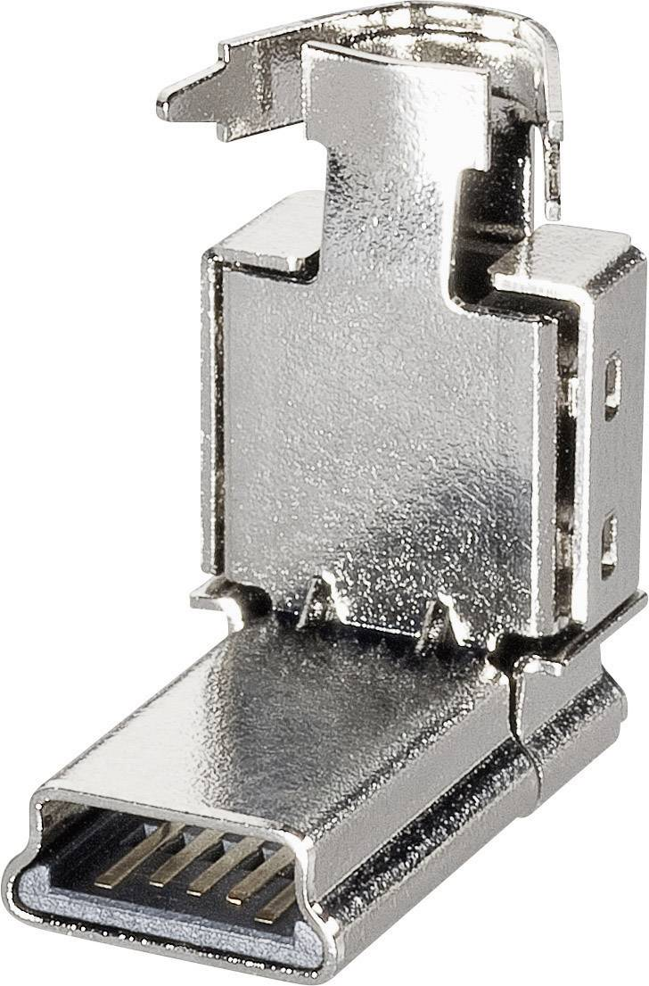 Mini-B USB zástrčka, zahnutá BKL Electronic 10120235 10120235, 1 ks