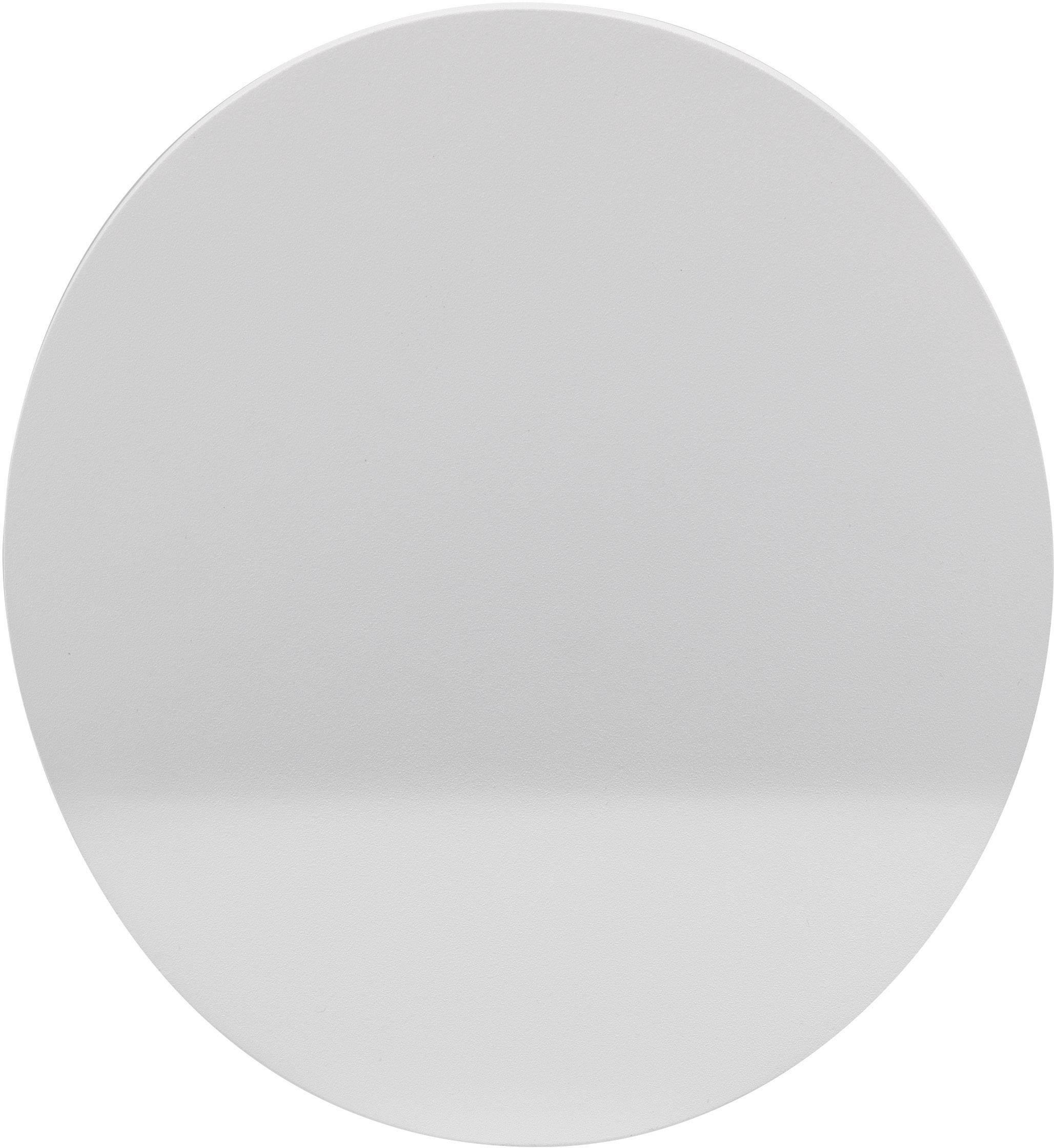 LED nástenné svetlo Renkforce Redondo WLE-1932, 4 W, teplá biela, biela