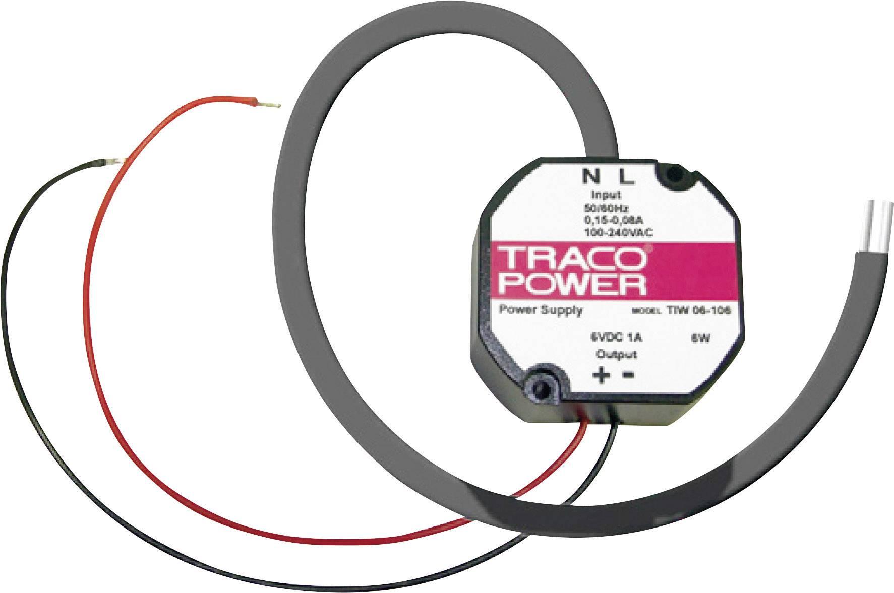 Napájecí zdroj do montážní krabice TracoPower TIW 24-112, 24 W, 12 V/DC
