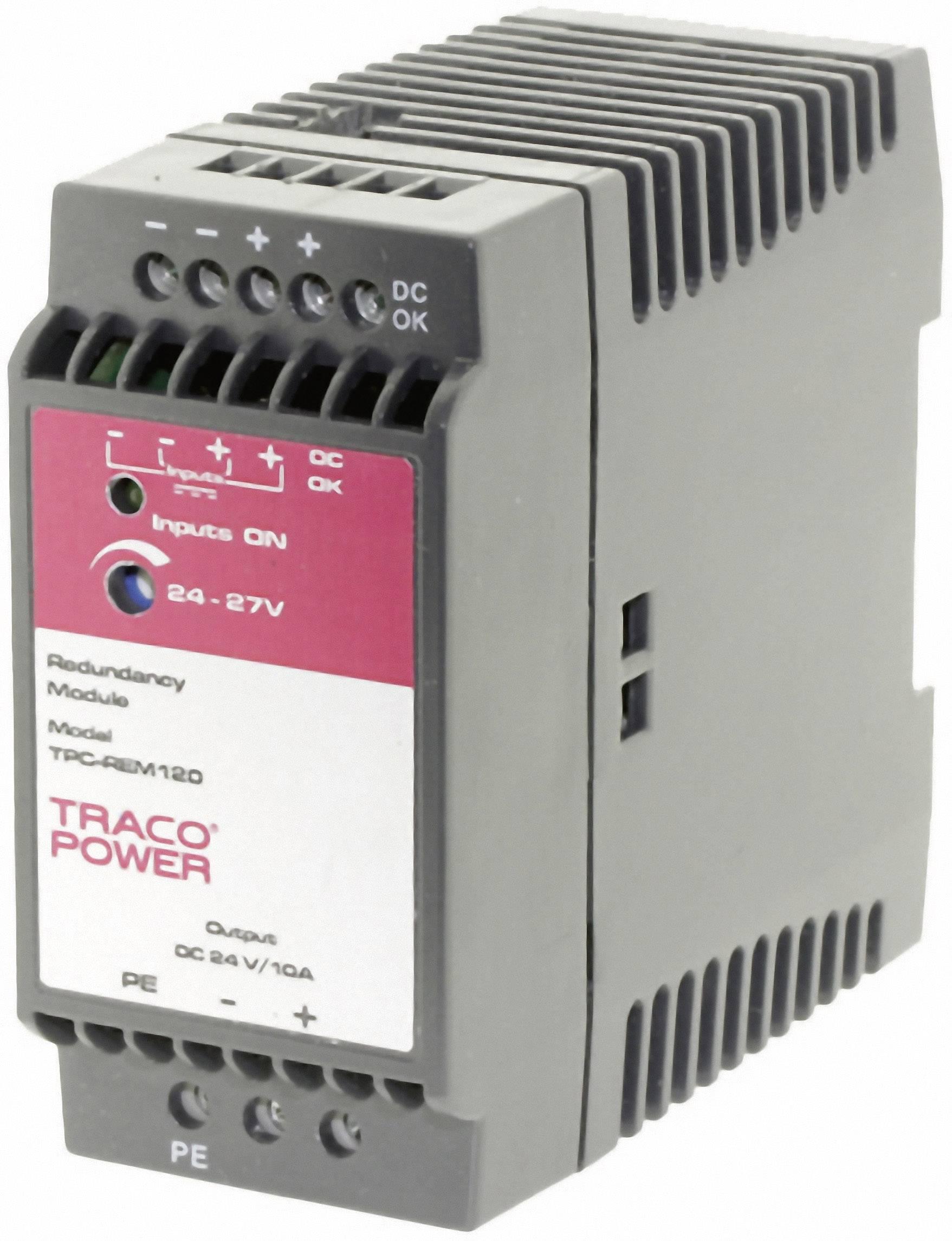 Zdroj na DIN lištu TracoPower TPC-REM240-48, 48 - 55 V/DC, 5 A