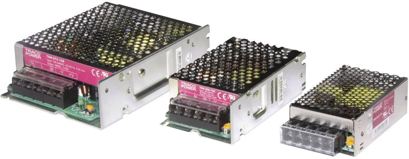 Vestavný napájecí zdroj TracoPower TXM 075-124, 75 W, 22,8 - 26,4 V/DC