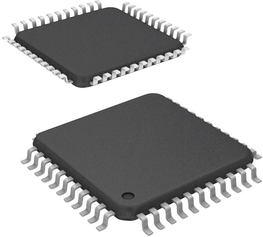 Mikrořadič Microchip Technology PIC16F1519-I/PT, TQFP-44 (10x10), 8-Bit, 20 MHz, I/O 36